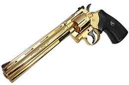 Colt PYTHON HUNTER GOLD PLATED 361