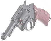 8mm POLICE REVOLVER 3in ABS