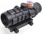 Gp01 Fiber RED Illuminated SCOPE